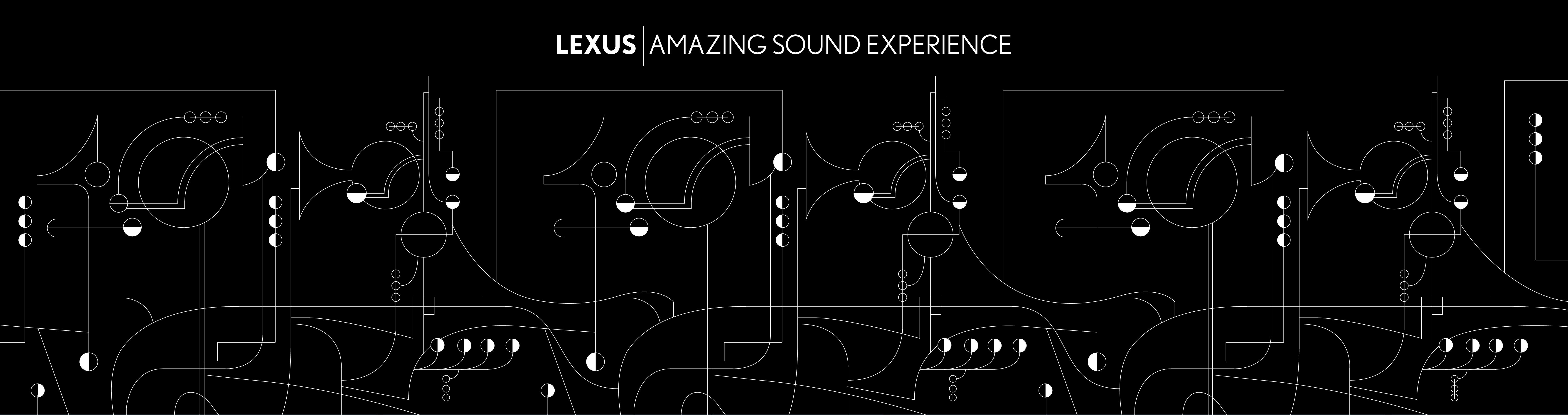 incontri-d-musica-lexus-amazing-sound-experience-brand-activation-grafica-muro